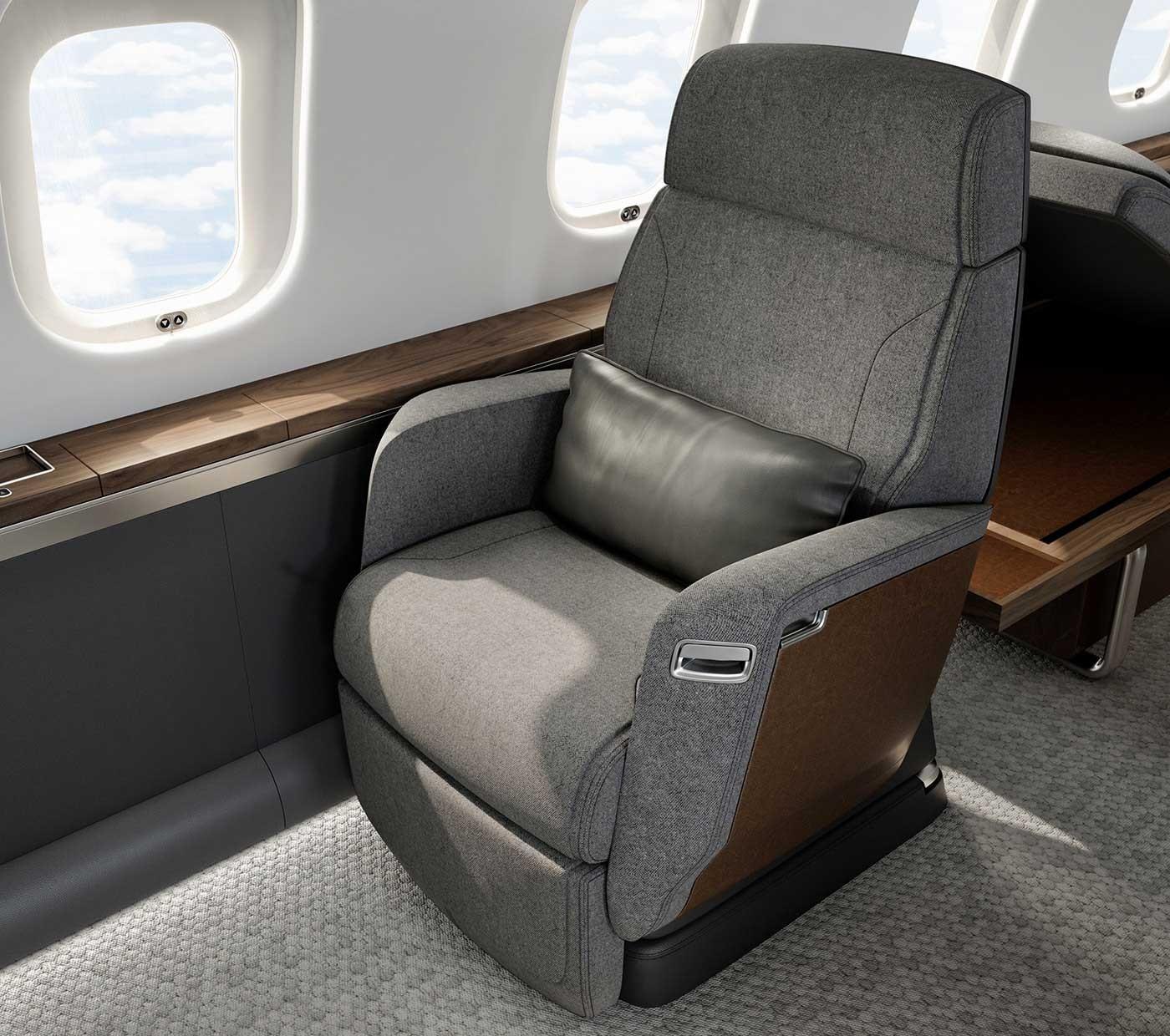 Global 6500 nuage seat