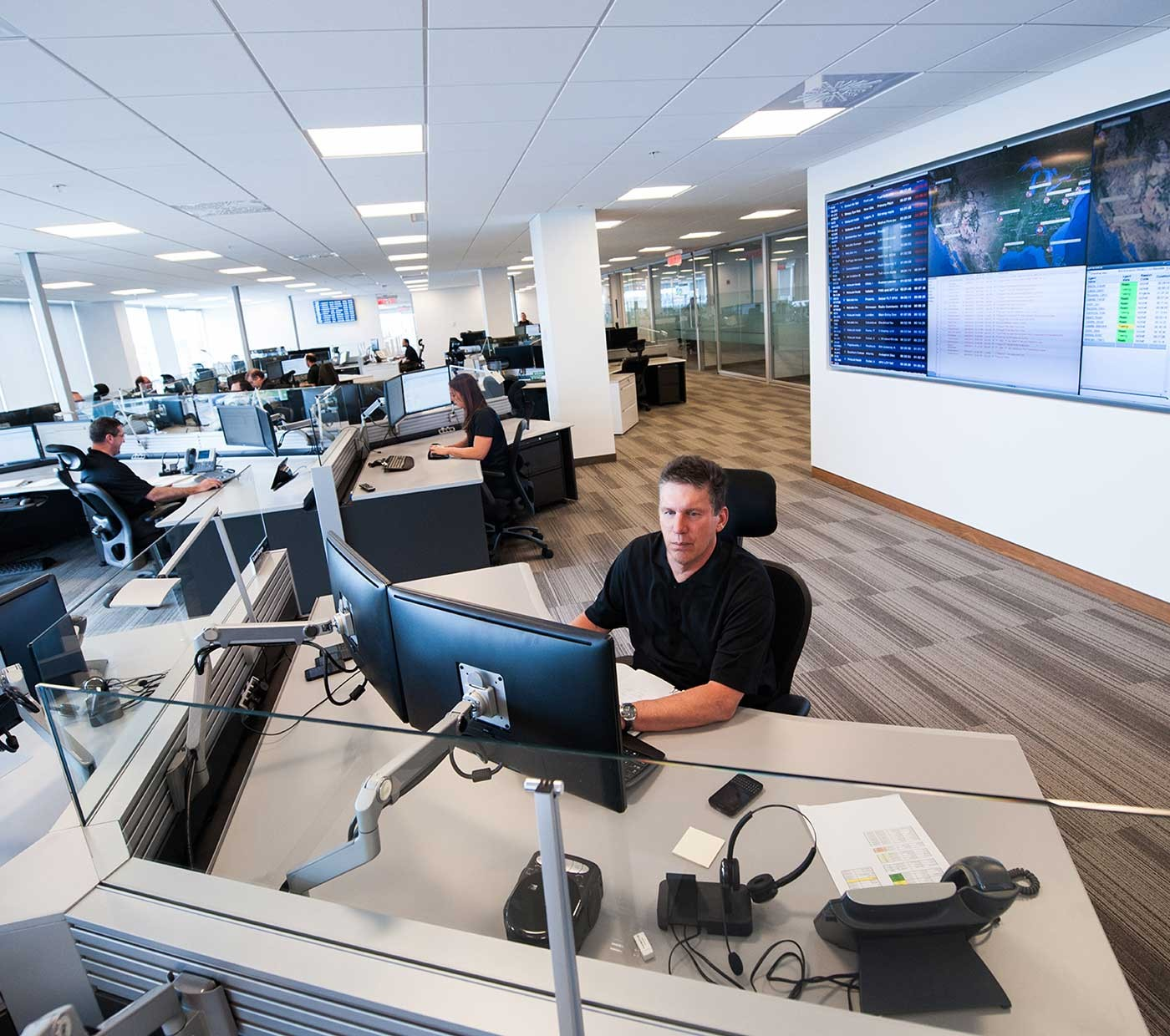 Customer response centre