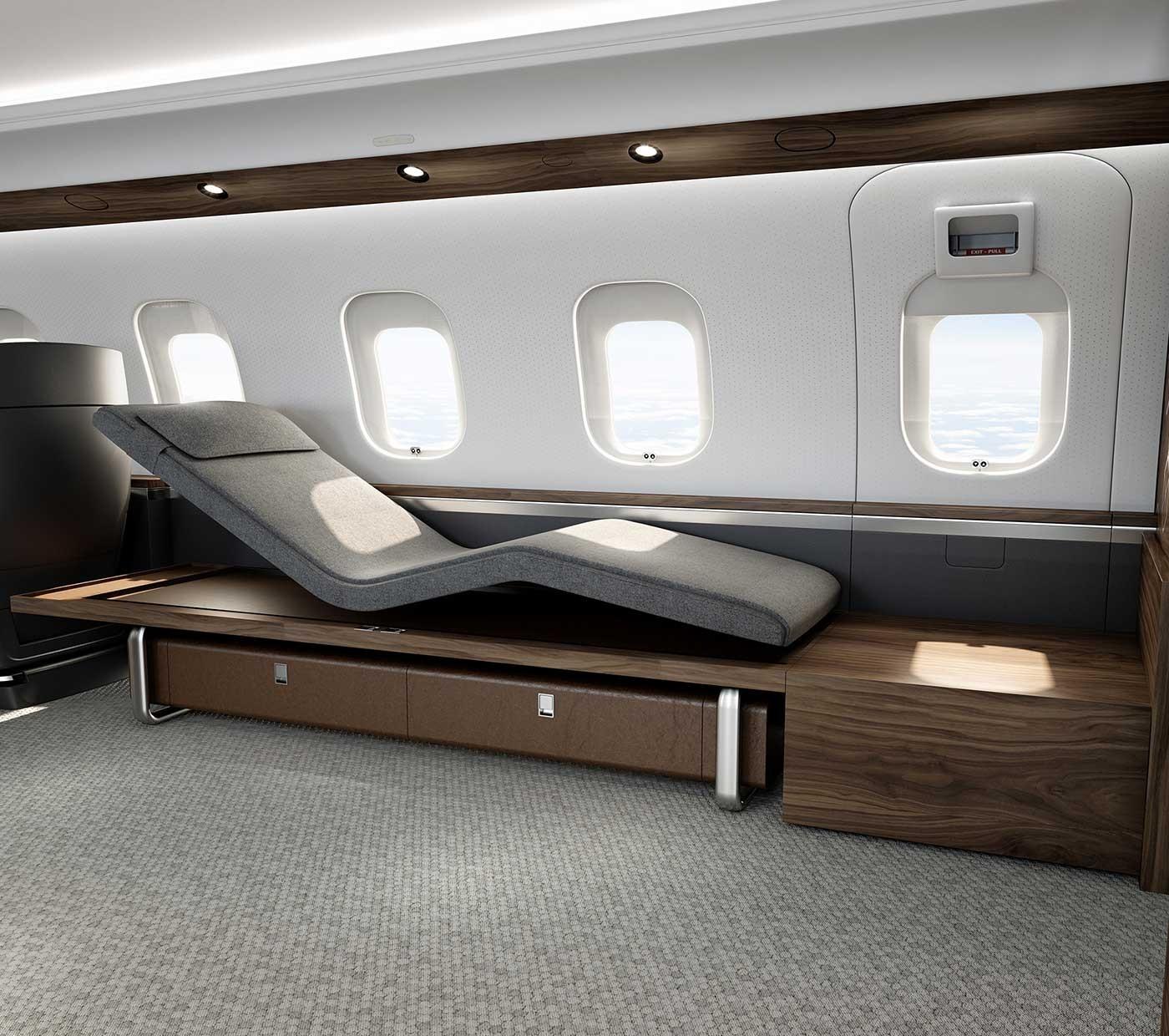 Global 6500 - La chaise méridienne Nuage