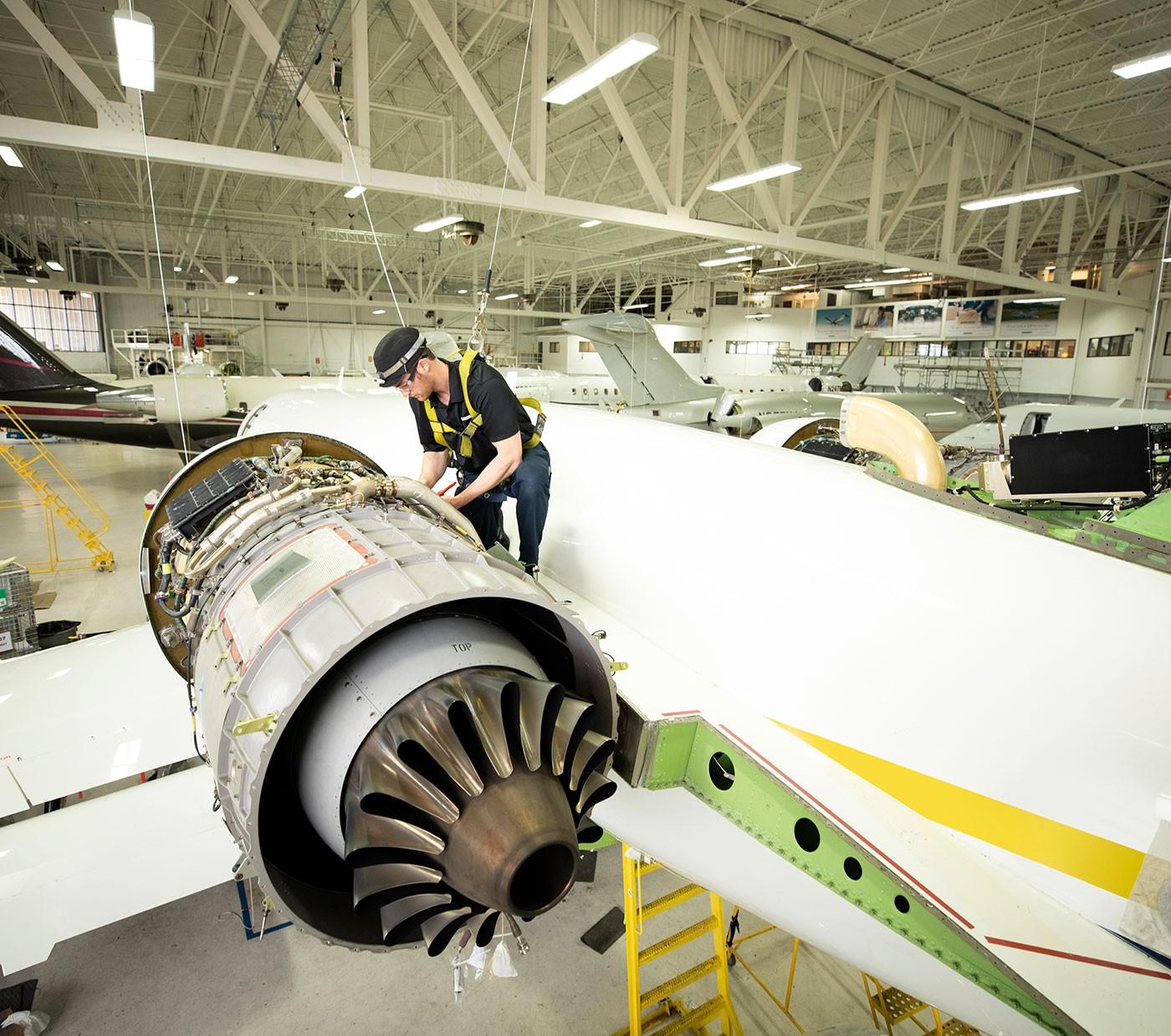 Établissements de service de Bombardier