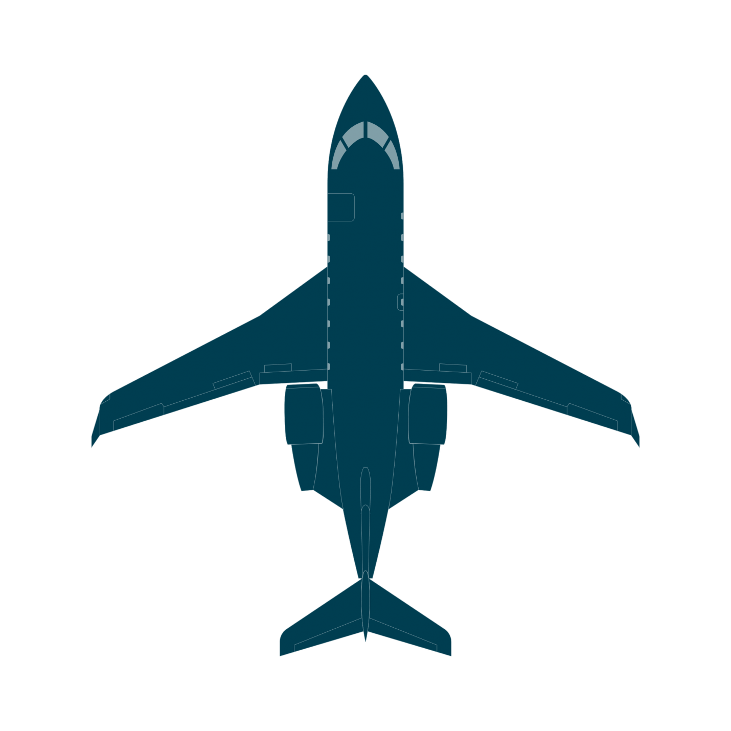 challenger 650 bombardier business aircraft Aircraft Headset Wiring challenger 650 top view cad