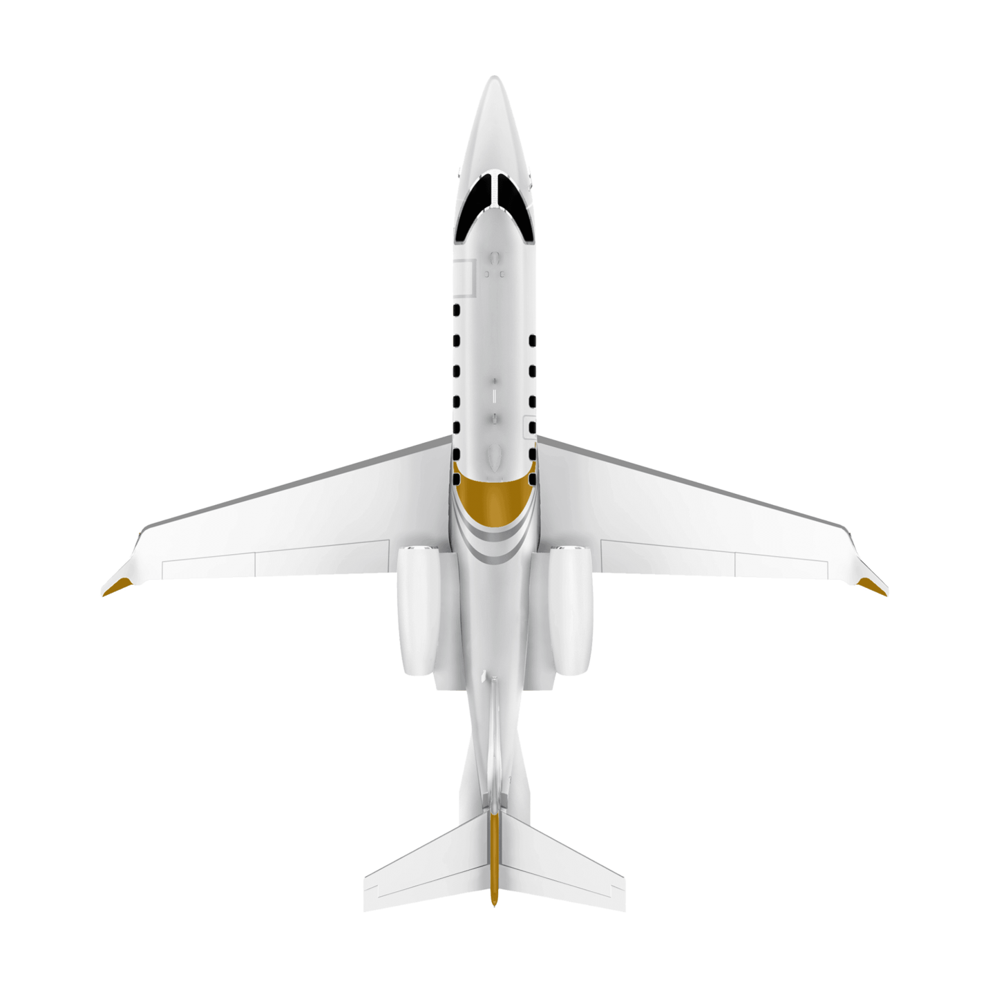 Learjet 70 top view