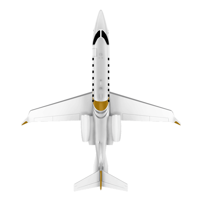 Learjet 75 Liberty top