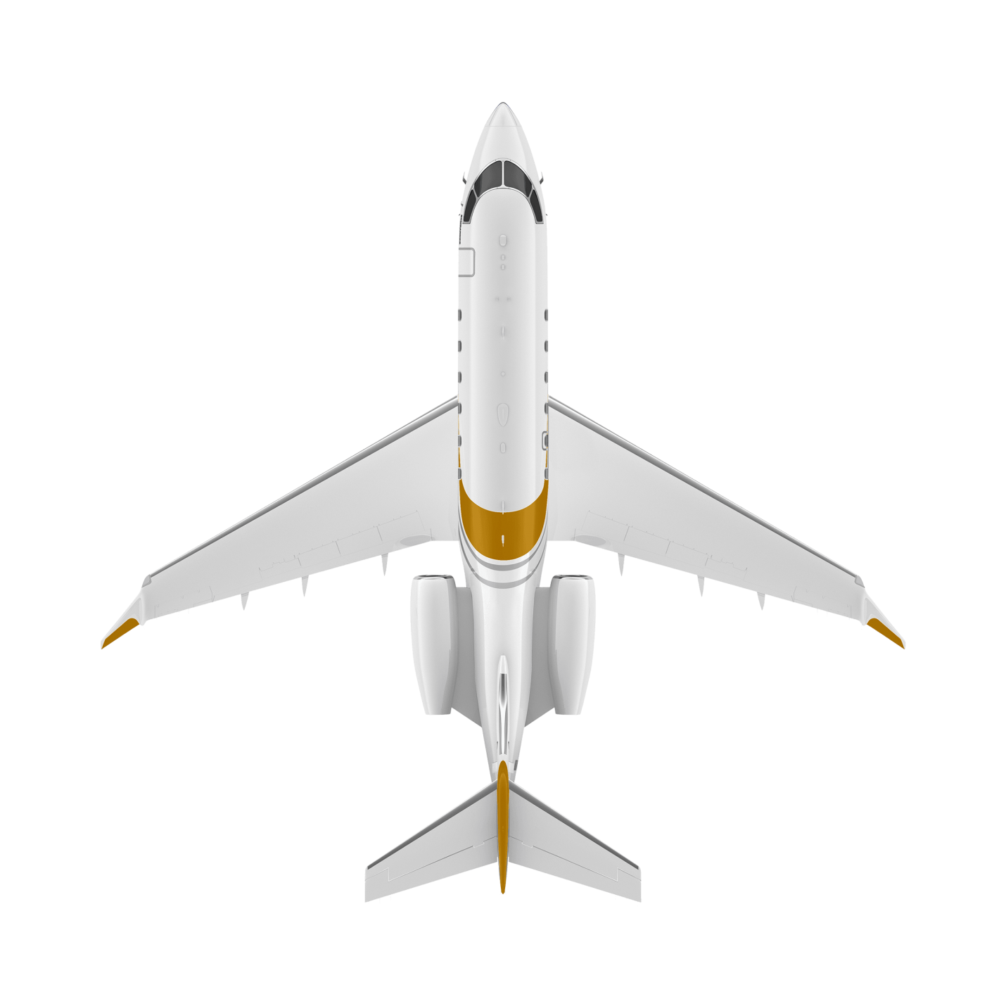 Challenger 3500 top view