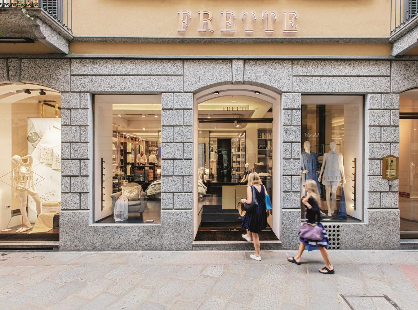Boutique Frette à Milan