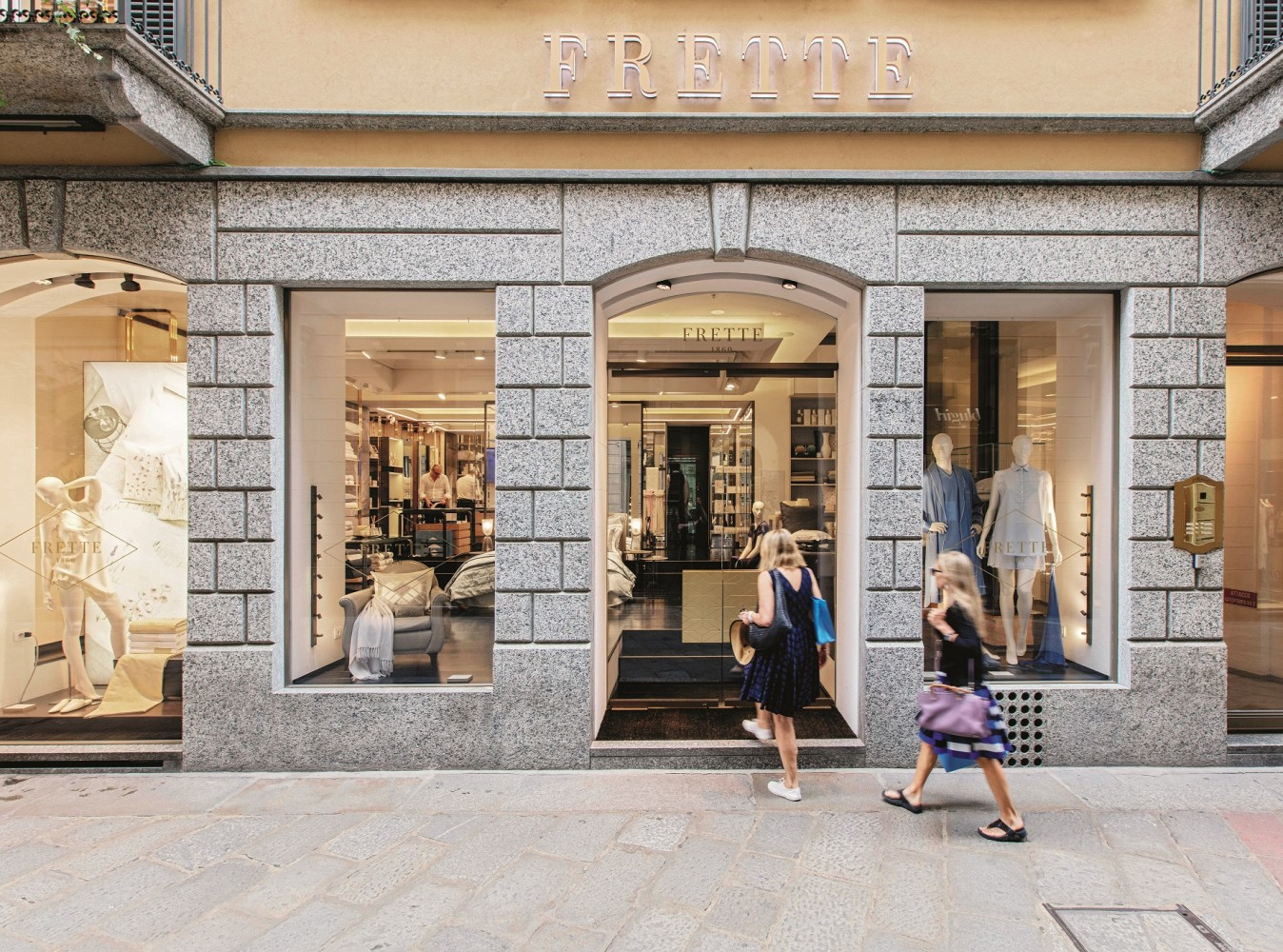 Frette's flagship store