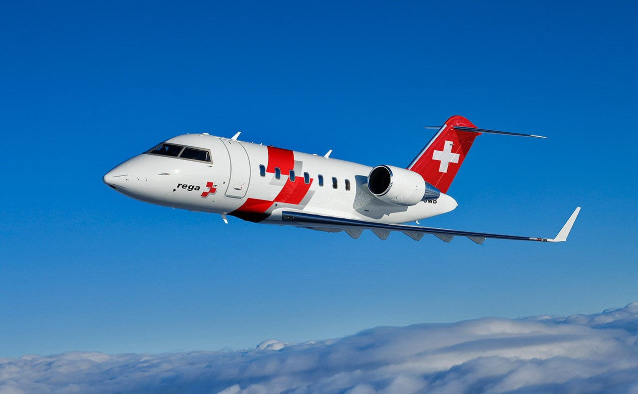 Challenger 650 - Swiss Air-Rescue Rega