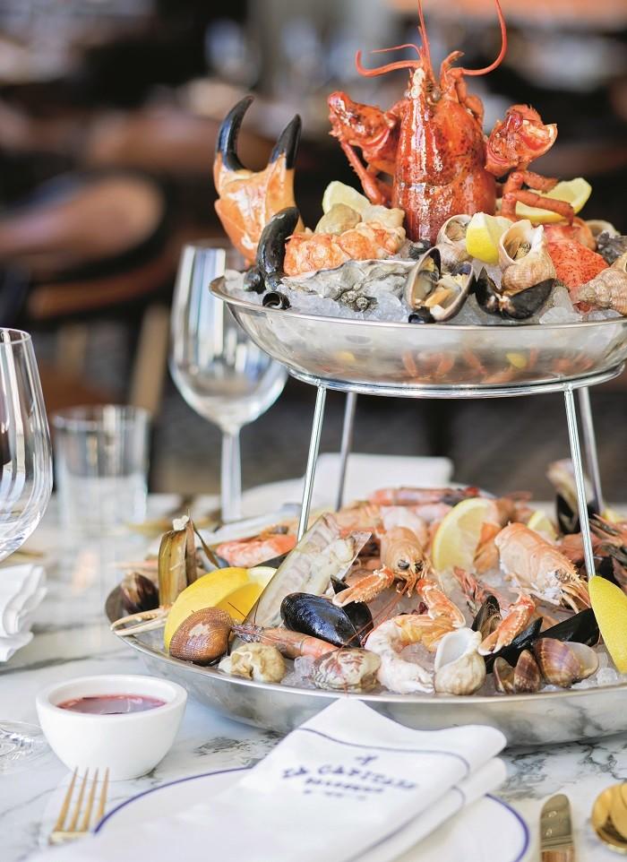 Seafood Feast at Four Seasons' brasserie La Capitale