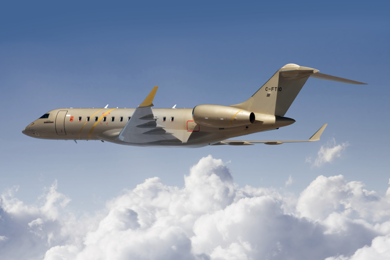 Global 6500 aircraft flight test