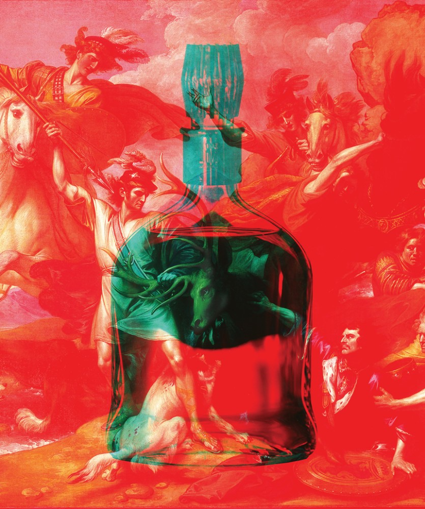 Dalmore Whisky Bottle