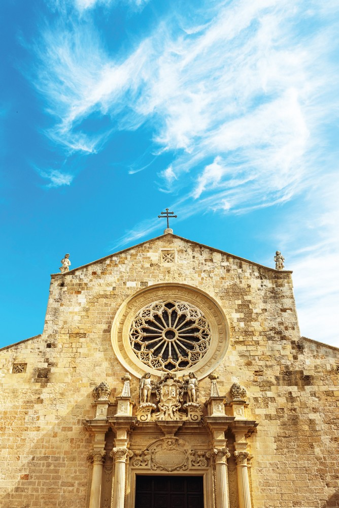 Puglia's Otranto Cathedral is dedicated to the Annunciation of the Virgin Mary