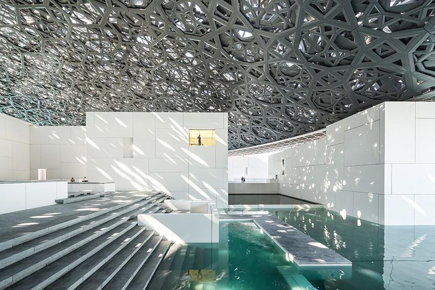 Inside the Louvre Abu Dhabi