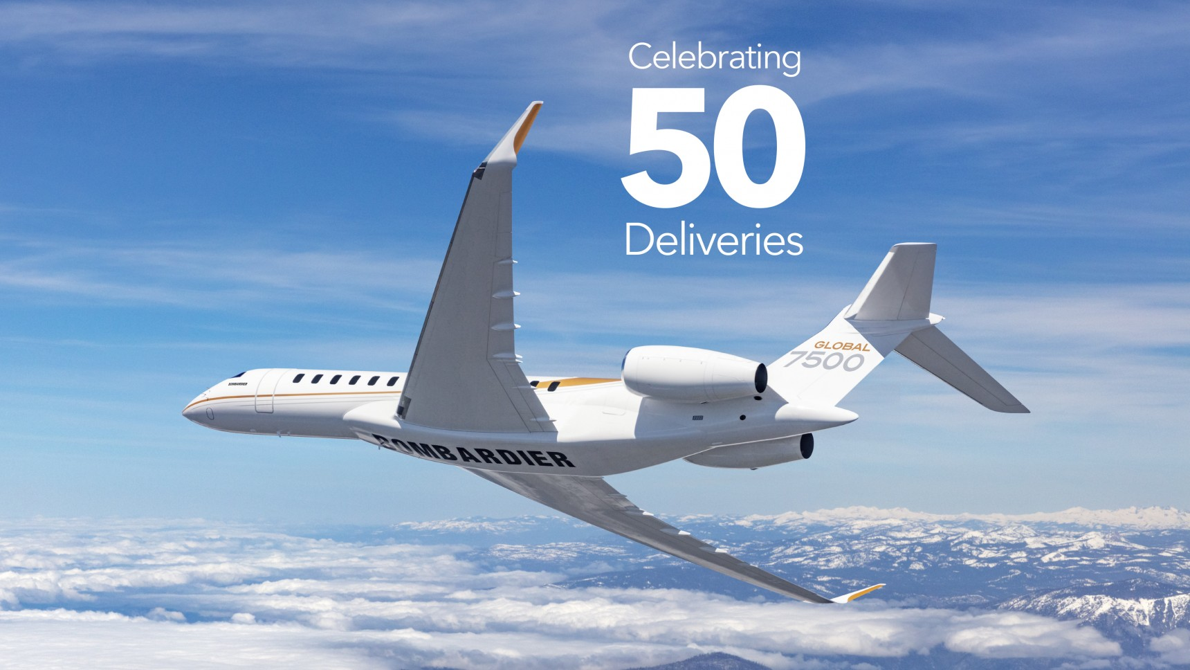 Bombardier Marks 50th Global 7500 Aircraft Delivery Milestone