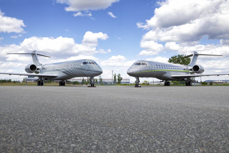 Deux premiers avions Global 7500 livrés au Canada par Bombardier