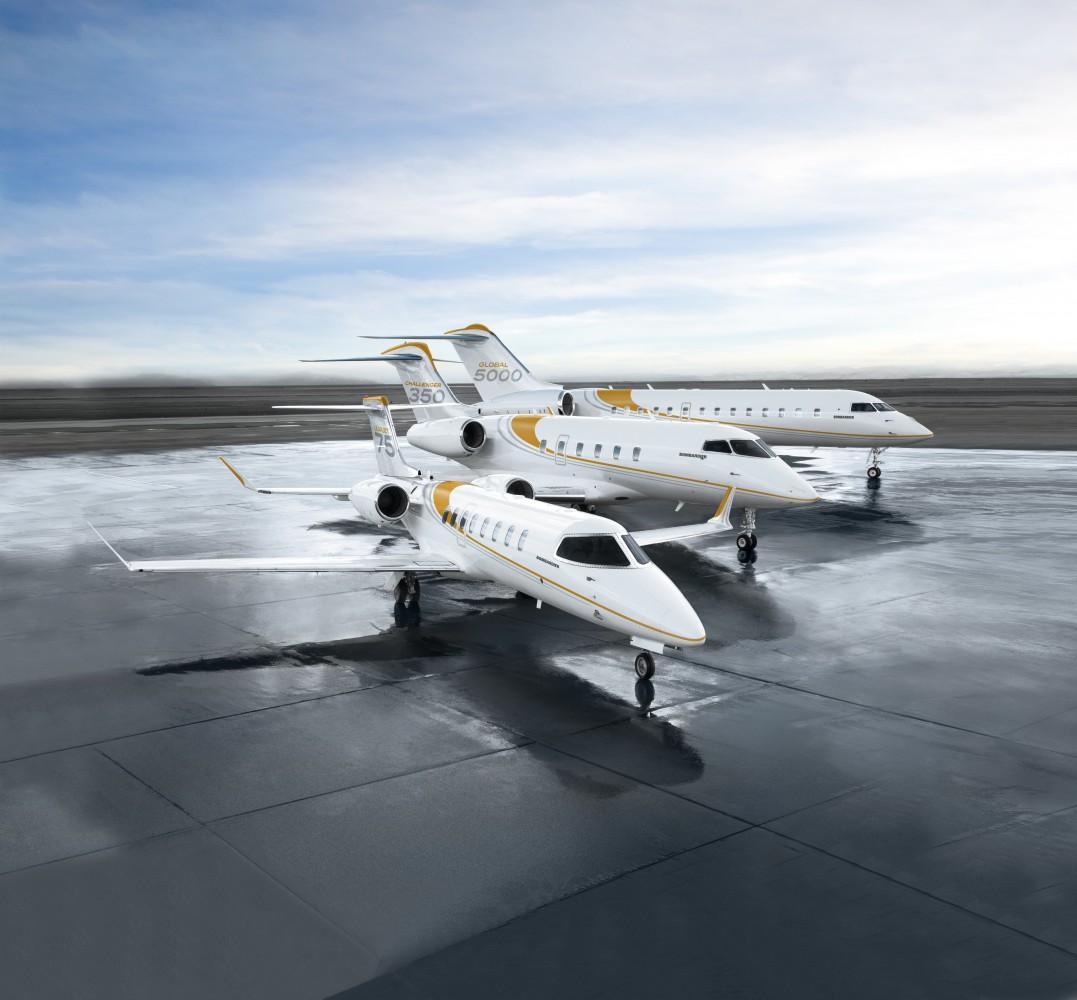 Bombardier aircraft family