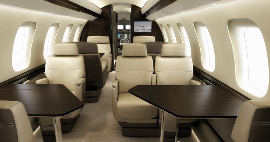 Global 7000 cabin design