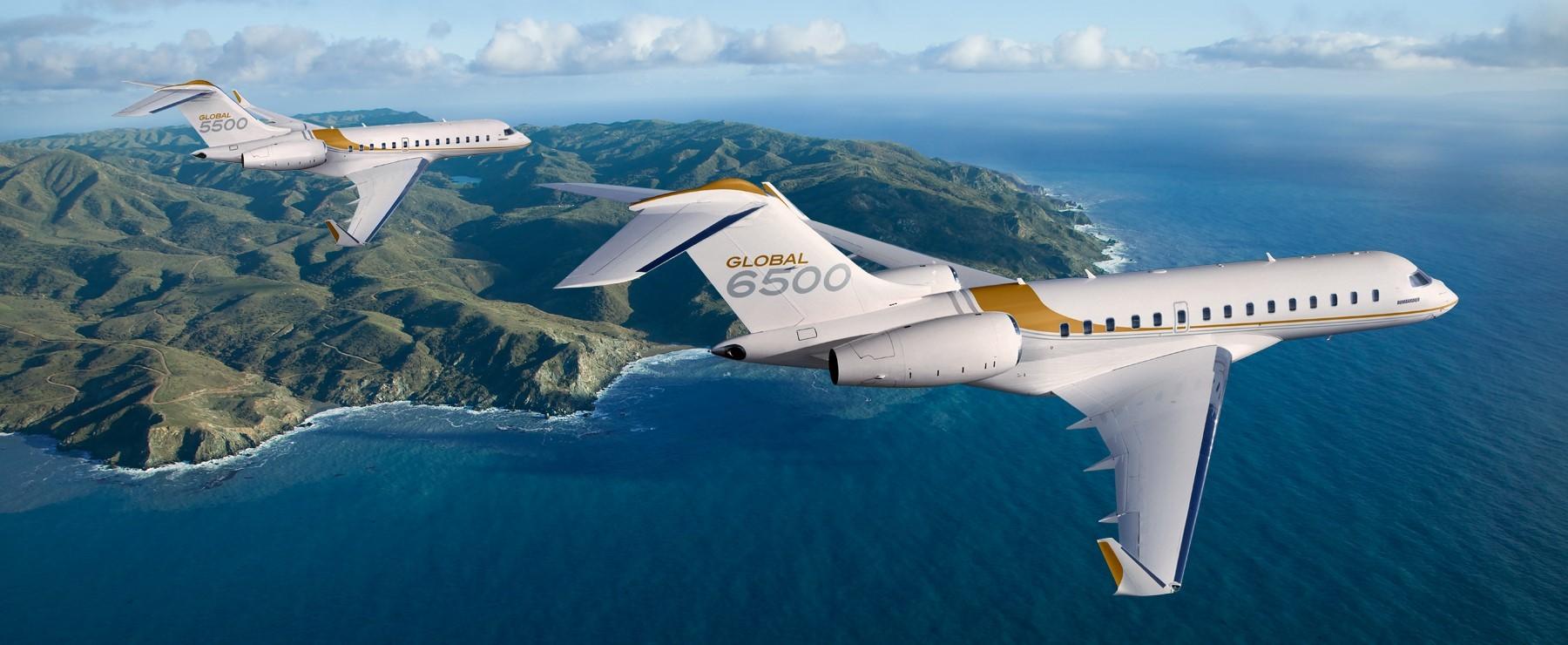 Global 5500 & Global 6500 aircraft
