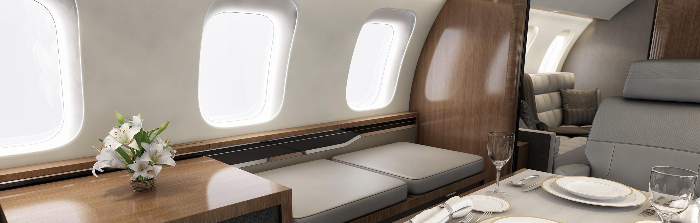 Global 8000 cabin