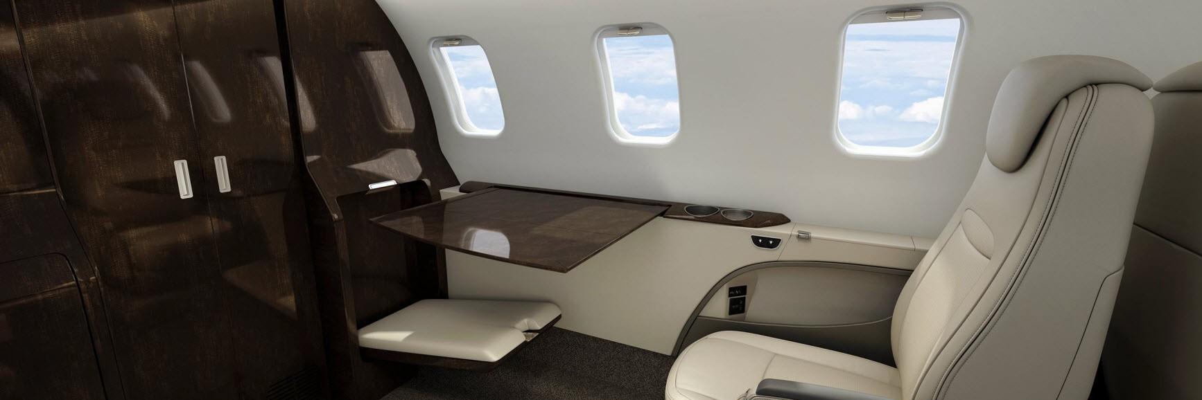 Learjet 75 Liberty Galley