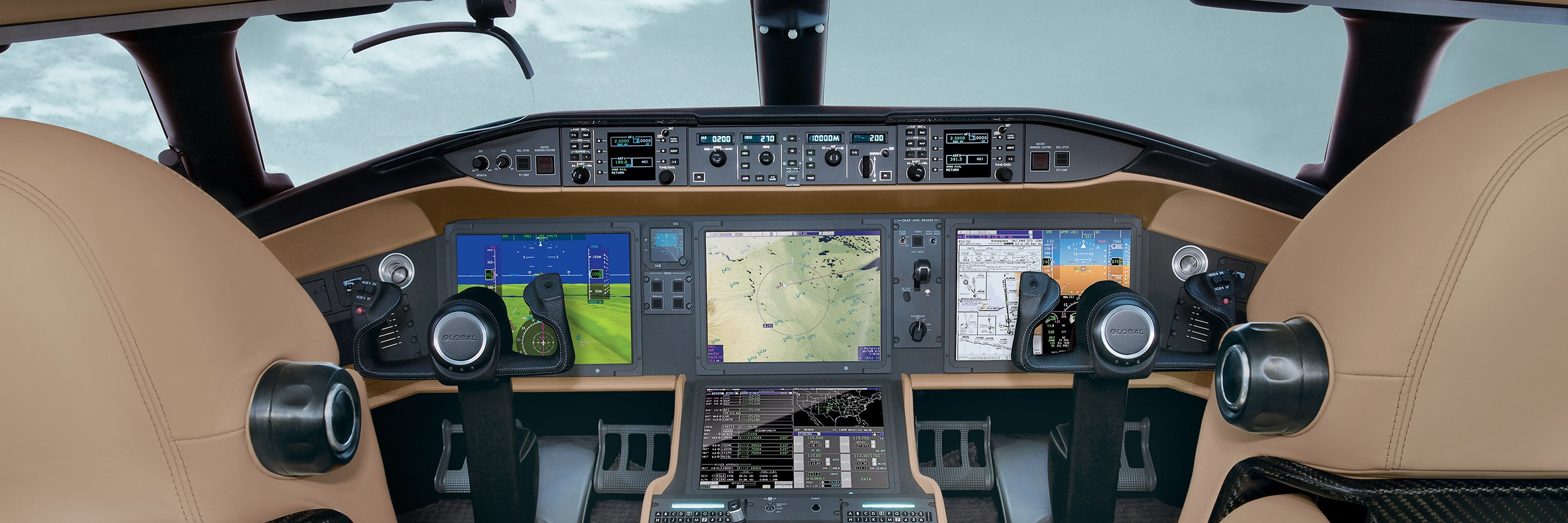 Global 5000 Cockpit