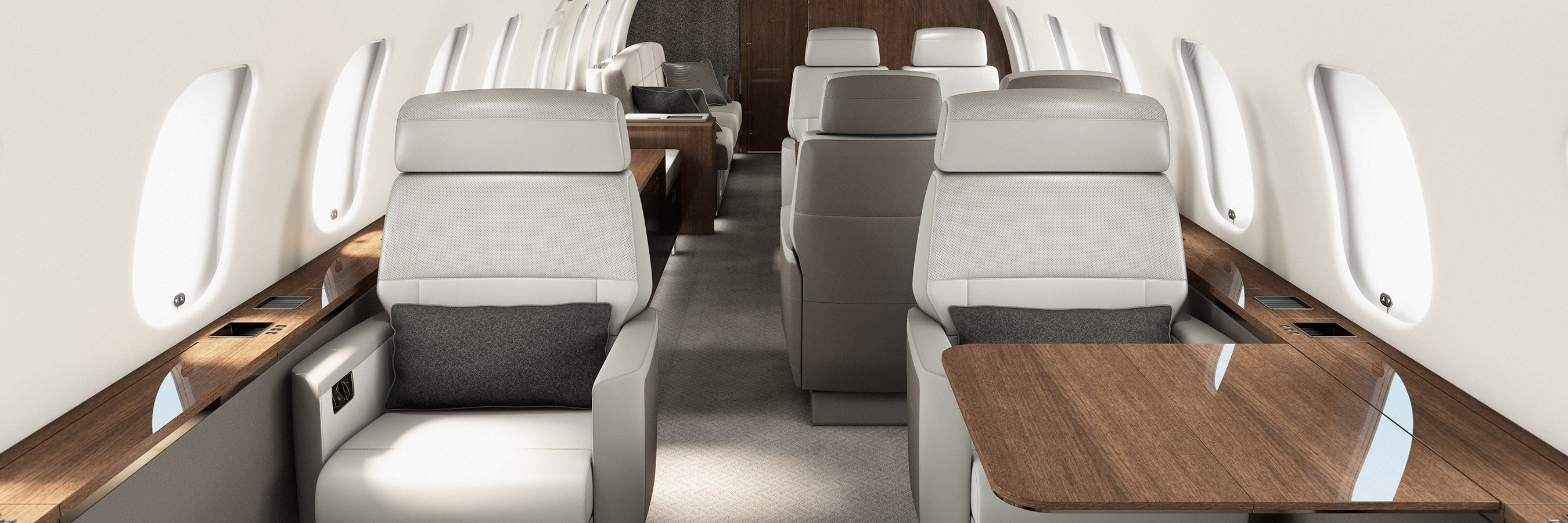 Global 5000 exceptional cabin