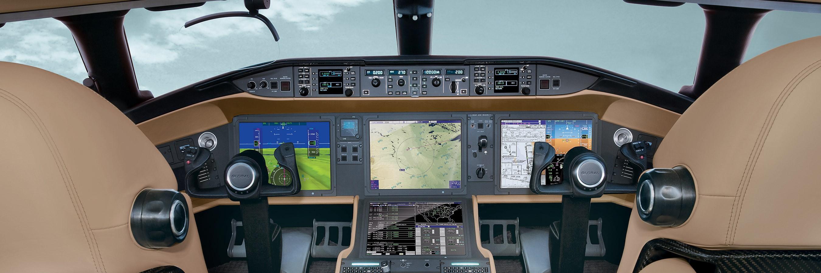 Global 6000 Cockpit