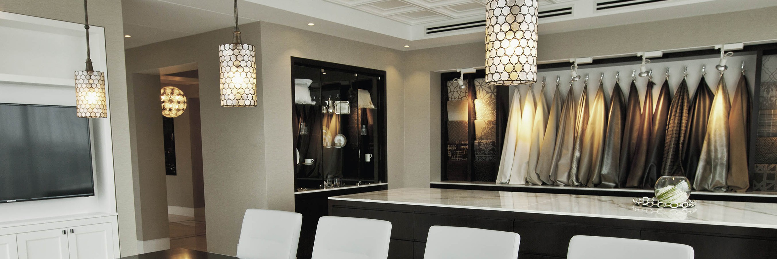 Interior showroom