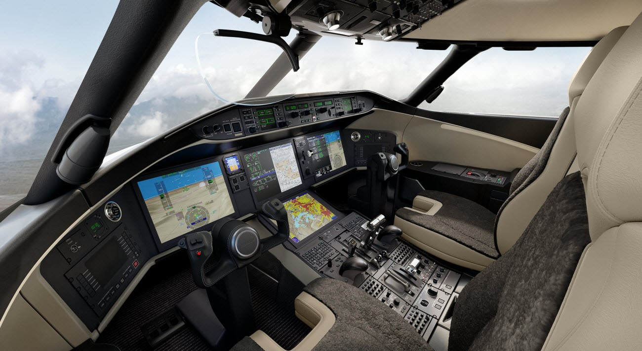 Global 6500 - Bombardier Vision flight