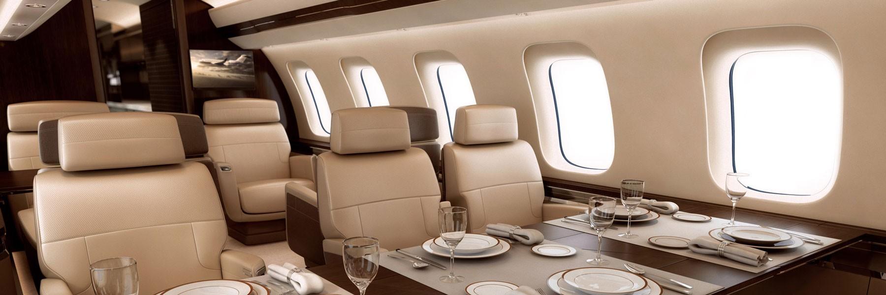 Global 7500 cabin design