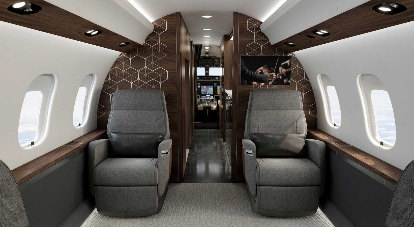 Global 6500 cabin