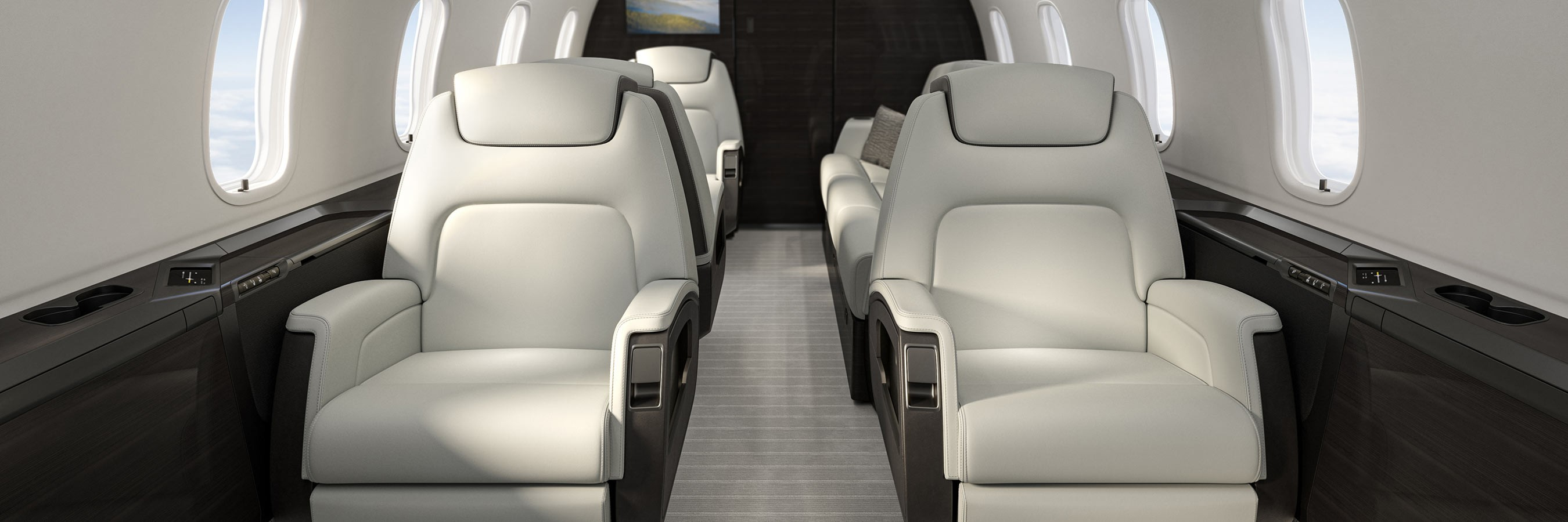 Challenger 350 - cabin world class design