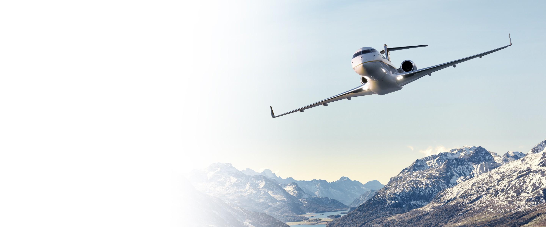 Global aircraft - St-Moritz