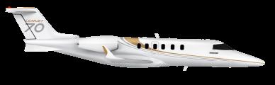 Learjet 70 side view