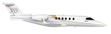 Learjet 70 side view