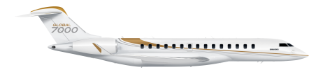 Global 7000 side view