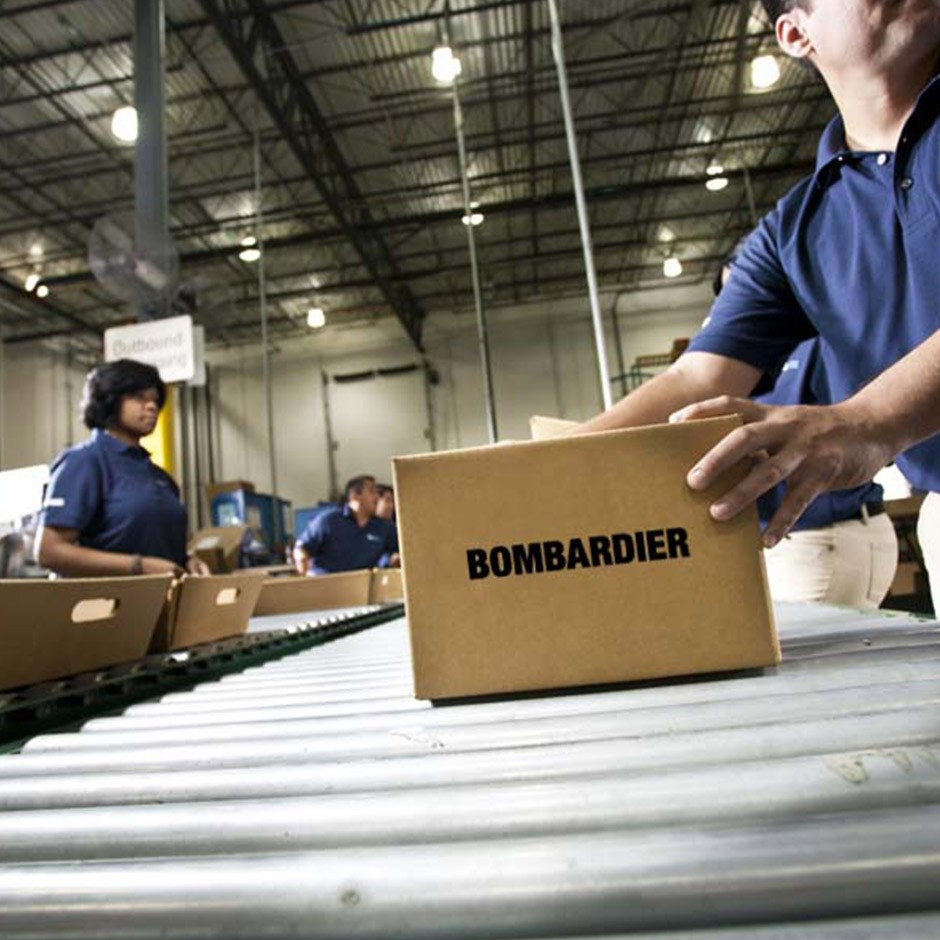 Bombardier Parts Distribution Centres